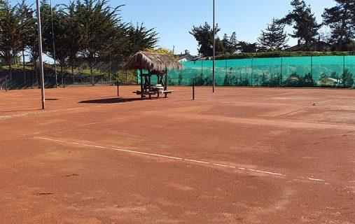Estado de las canchas de tenis