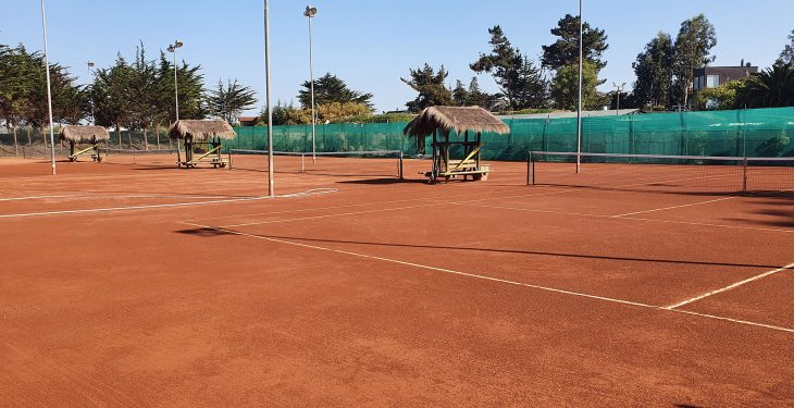 Galería de imágenes - Estado de las canchas de tenis