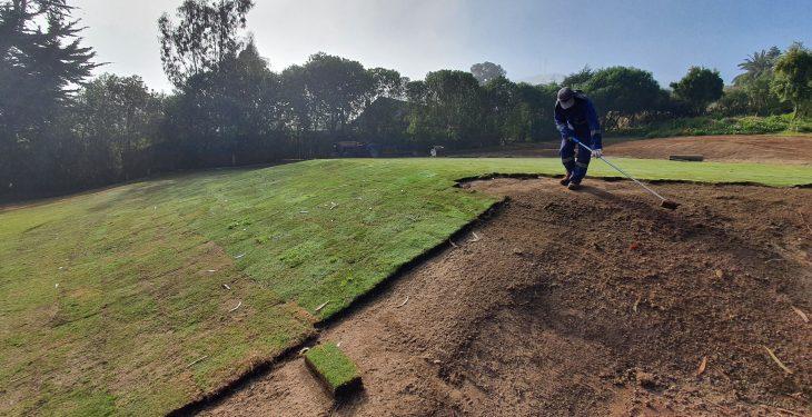 Galería de imágenes - Avance de los trabajos en la cancha de golf